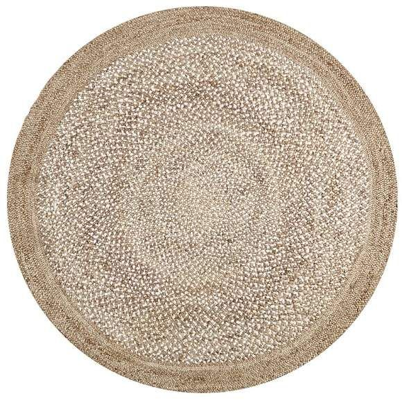 Border Round Braided Jute Rug