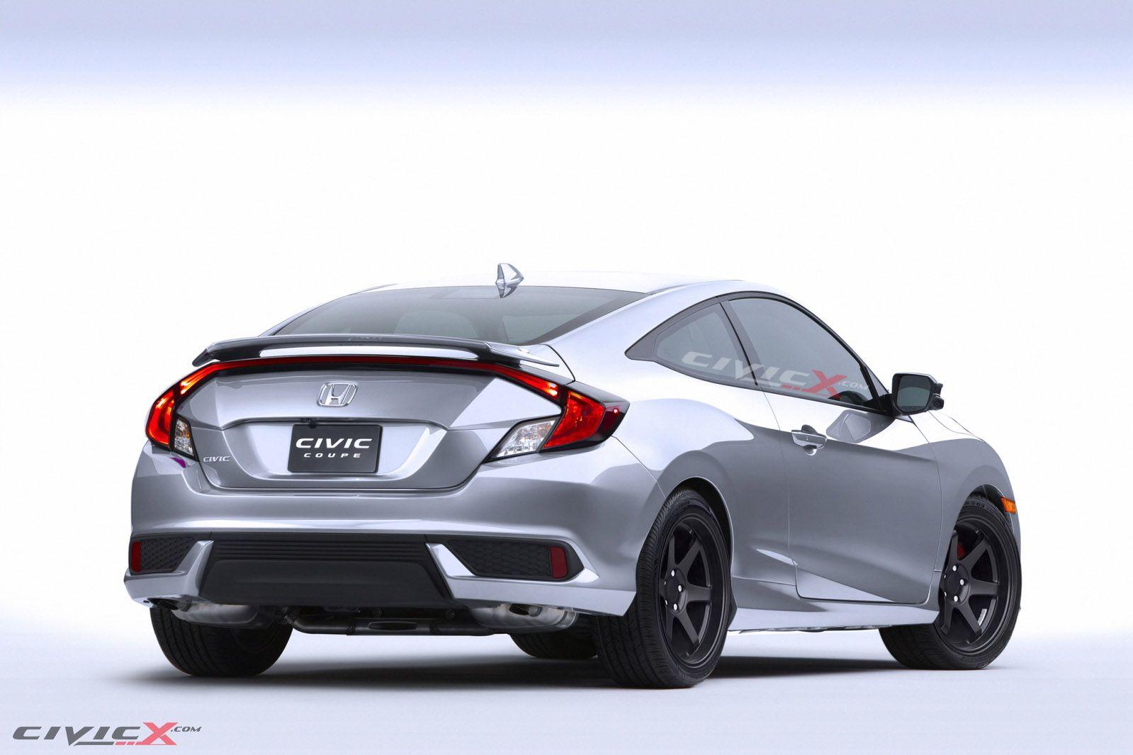 2016 Honda Civic Coupe Aftermarket Parts Honda Civic Coupe Honda Civic Civic Coupe