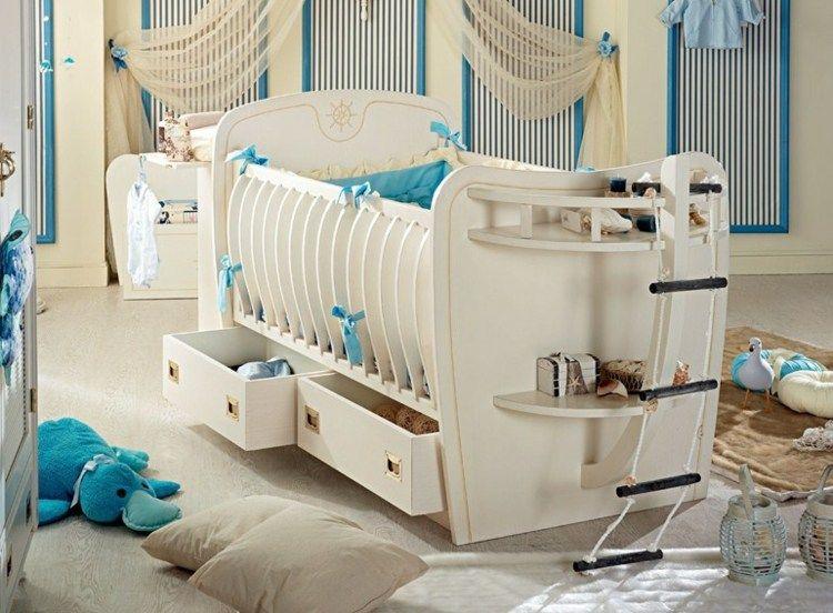 funktionale kindermöbel - babybett mit stauraum | baybyzimmer, Schlafzimmer ideen