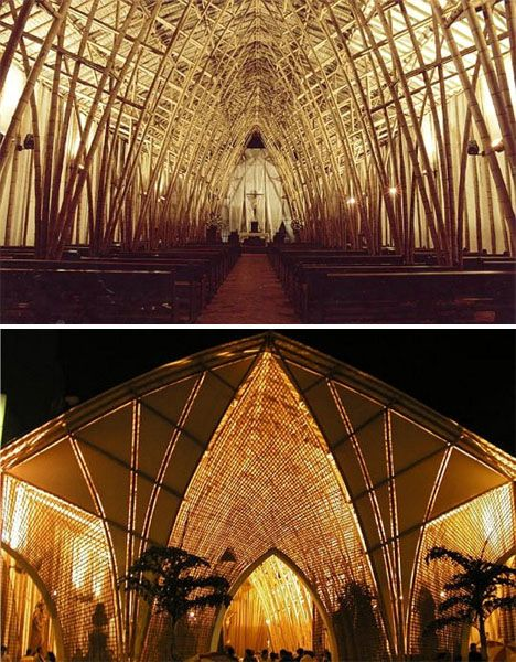 Bamboo Architecture 12 Stylish Sustainable Structures Co Hinh