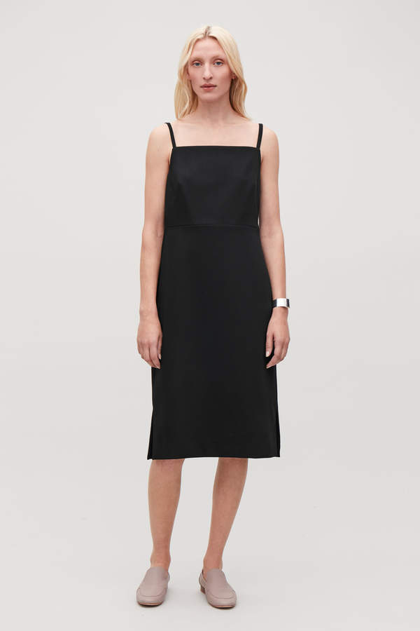00e6bc3bdc38 Cos WOOL-BLEND SLIP DRESS in 2019 | Products | Dresses, Wool blend ...