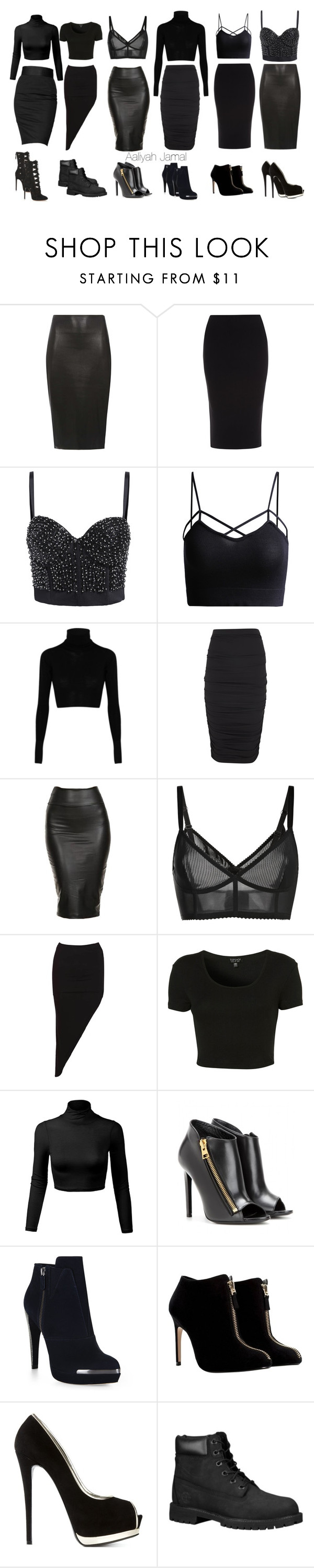 """""""Untitled #62"""" by yxnggoddess ❤ liked on Polyvore featuring Dorothy Perkins, Roland Mouret, MM6 Maison Margiela, Lanvin, Giambattista Valli, Topshop, Rock & Republic, Tom Ford, Hervé Léger and Zara"""