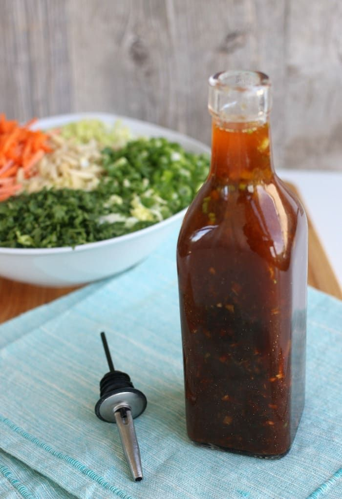 Asian Dressing For Salad Recipe | The Foodie Affair