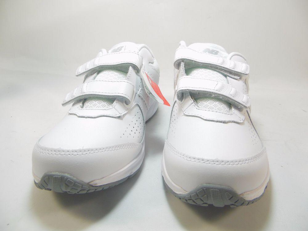 b352518480 New Balance 411 Womens Walking Shoes :Leather White Size 7B WW411HW2 ...