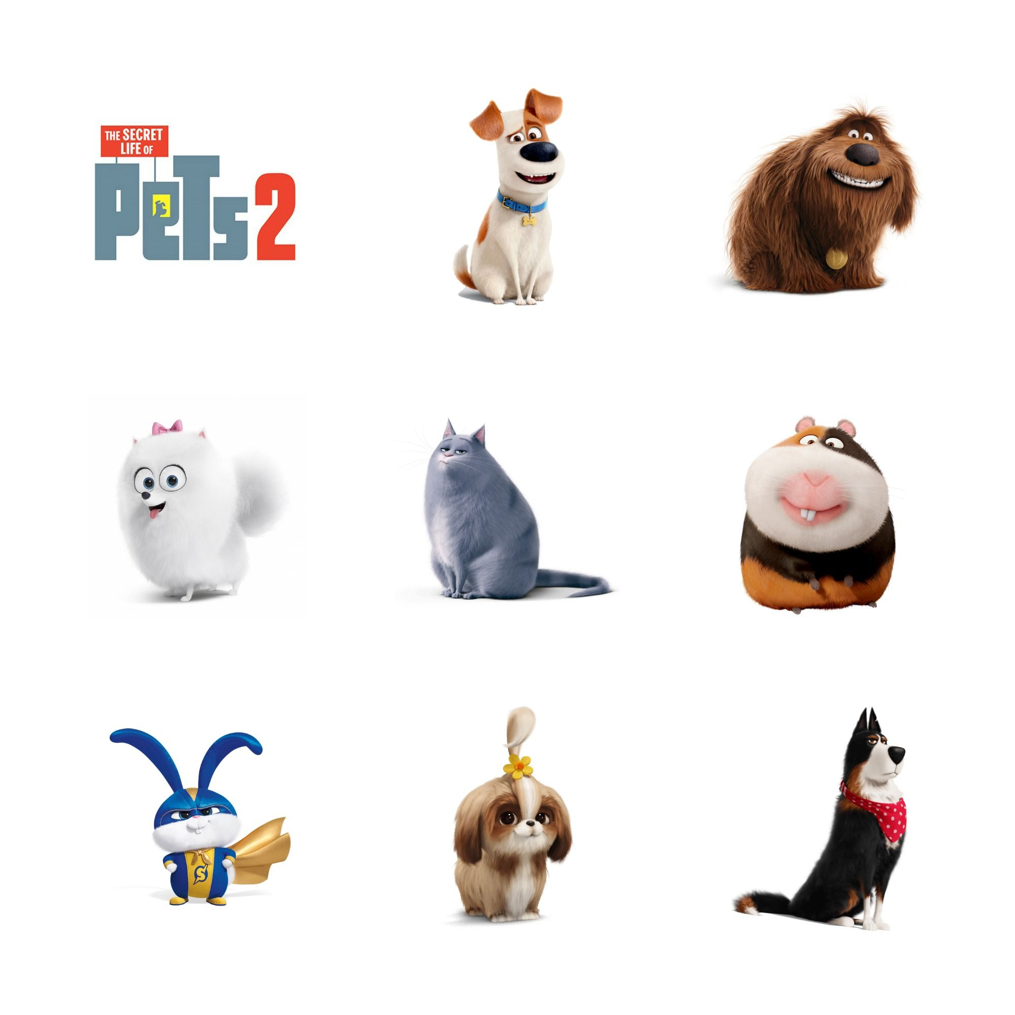 Secret Life Of Pets 2 Printable Secret Life Of Pets Pets Pet Fashion