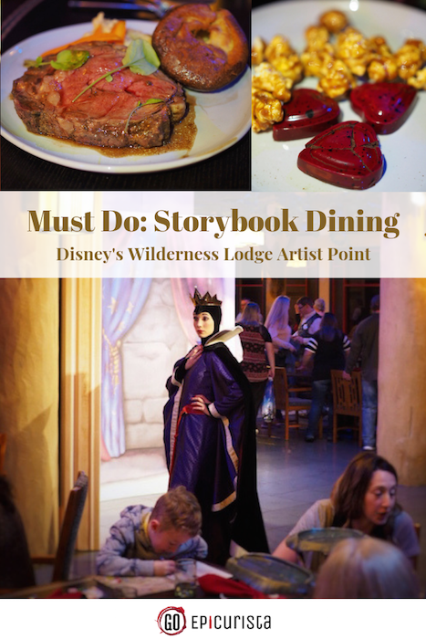 Disney Storybook Dining at Artist Point is Character