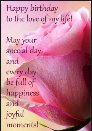 Happy Birthday Quotes For Daughter Wishes Lover Romantic