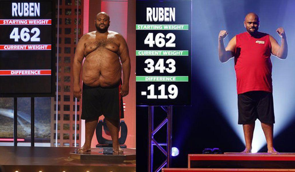 On The Biggest Loser Finale Birmingham S Ruben Studdard Had Lost 119 Lbs To Finish The Season At 343 Lbs Jillian Michaels Biggest Loser Loser