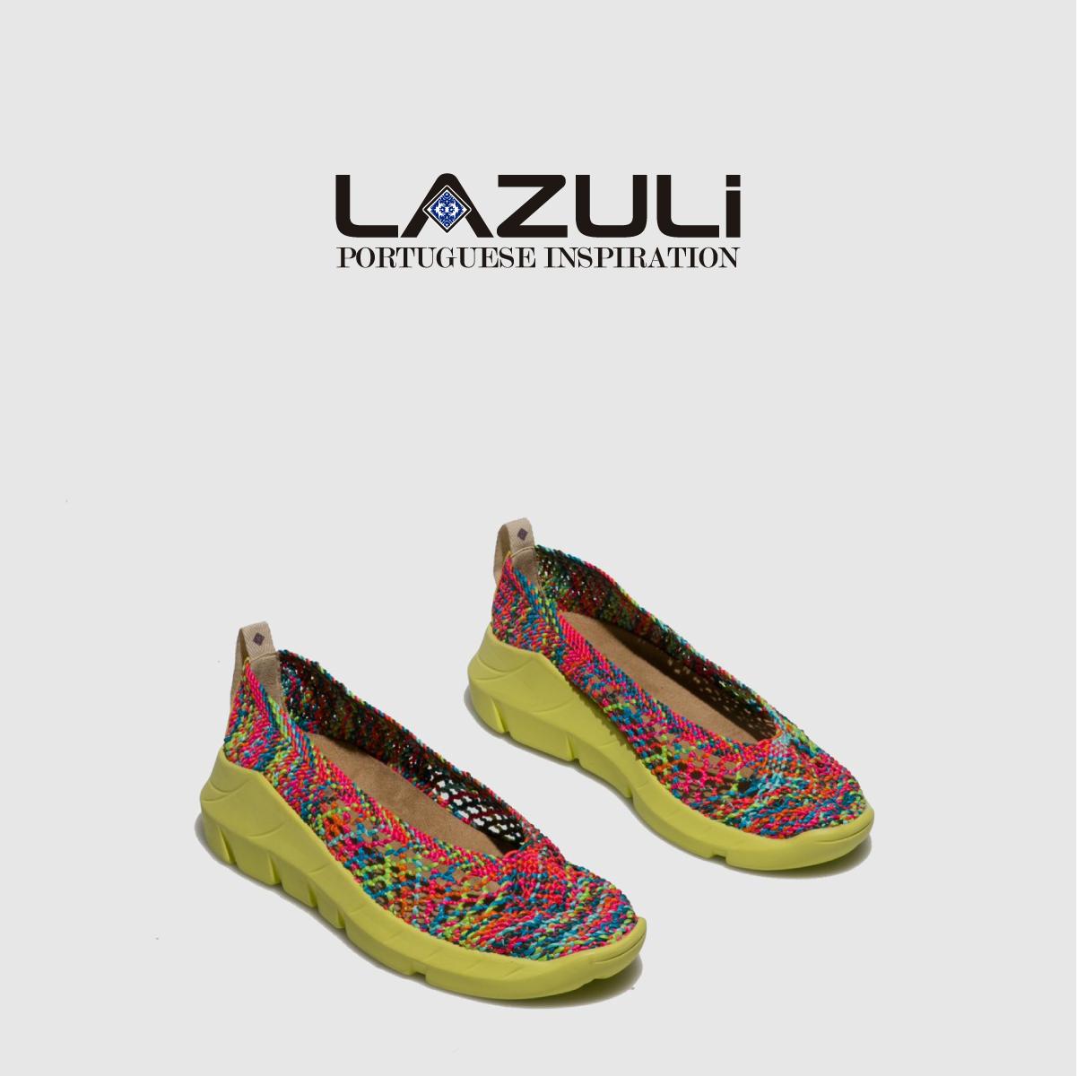 Enjoy Color 🌈💛  #Vegan & #sustainability 🌱     #SpringSummer #SS20 #ss2029 #PrimaveraVerao2020 #Sandals #Footwear #Shoes #ShoeLover #sapatos #PortugueseShoes #PortugueseInspiration #PortugueseTiles  #Lazuli #LazuliShoes #MyLazuli