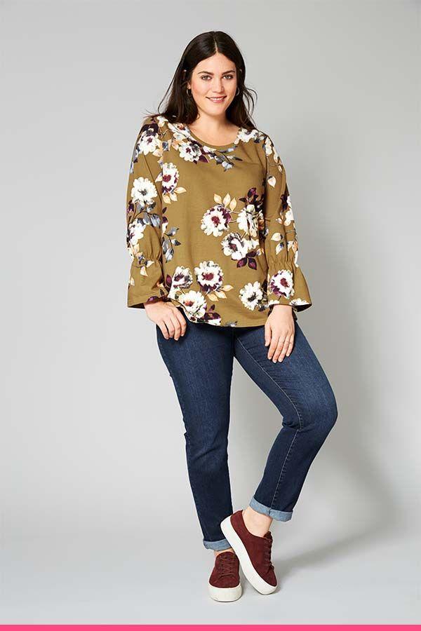 Kukkatunika On Kaunis Vaate Vuoden Ympari Sweatshirts Long Sleeve Blouse Fashion