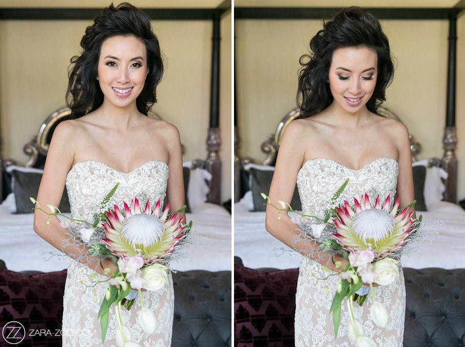 Cape Town Wedding, Bride Portrait