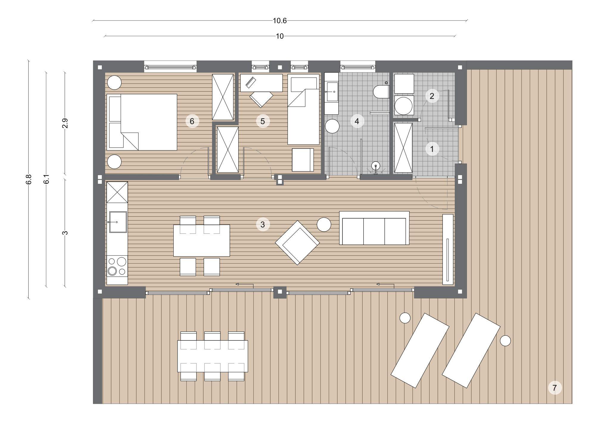 Modul 64 Casaplaner Modulhaus Schweiz Haus planung