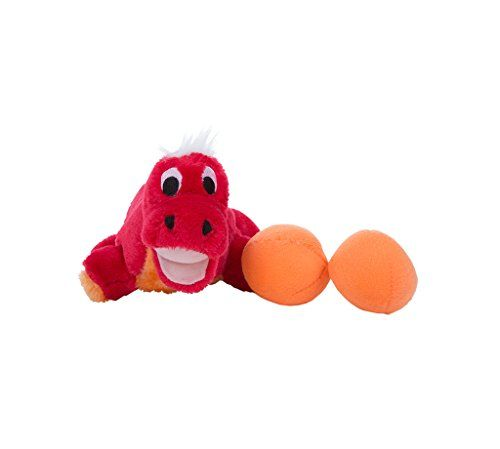 Outward Hound Kyjen 31007 Egg Babies Dinosaur Plush Dog Toys