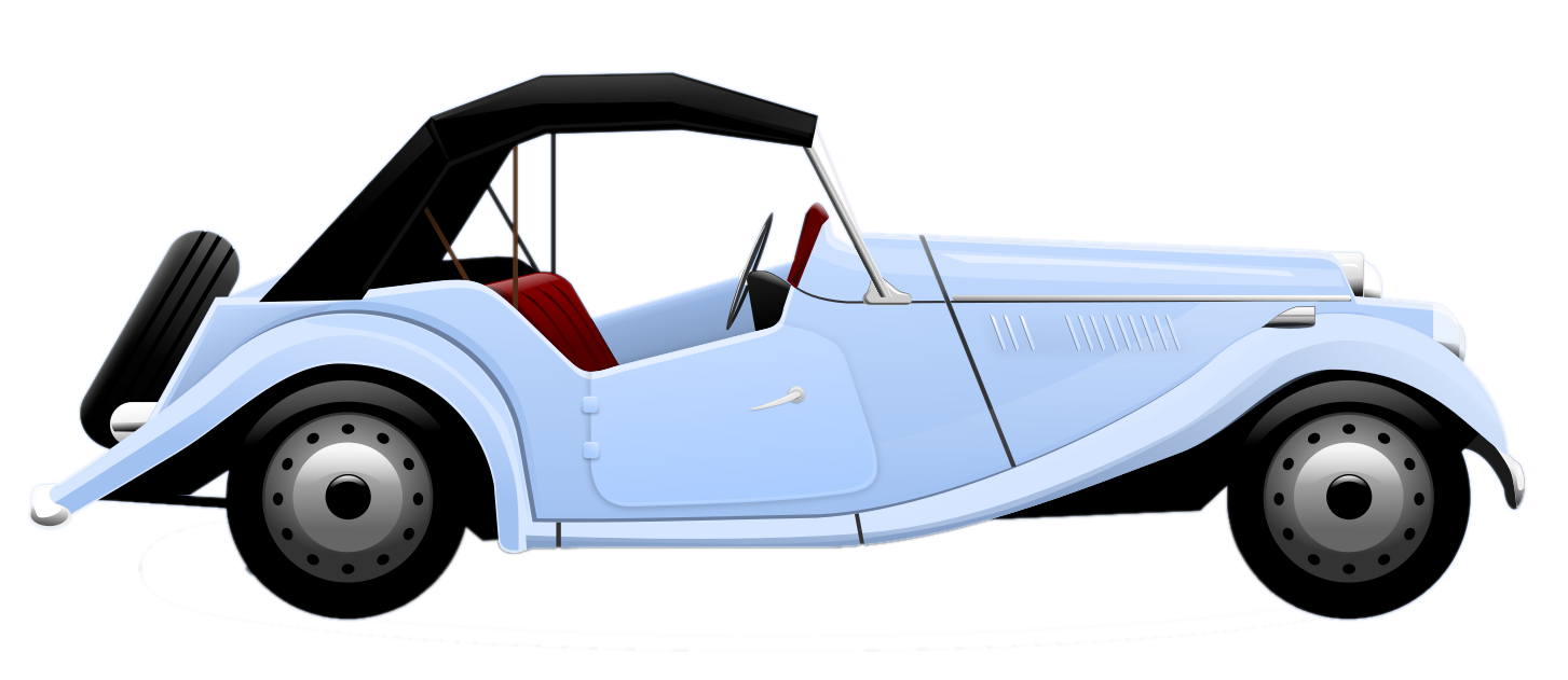 this nicely done vintage car clip art is in the public domain rh pinterest ca free car clipart images free car clip art black and white