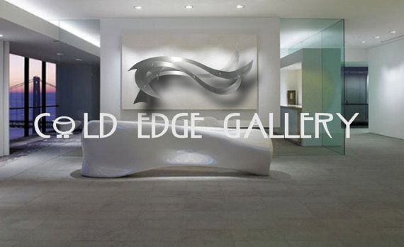 Large Metal Wall Art Corporate Wall Art Extra By Coldedgegallery