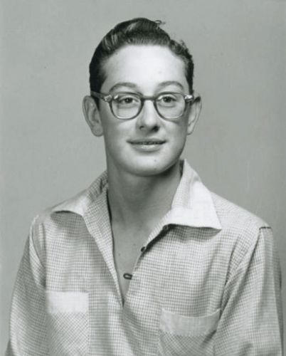Buddy Holly, 1955, Lubbock High School. I taught at LHS ...