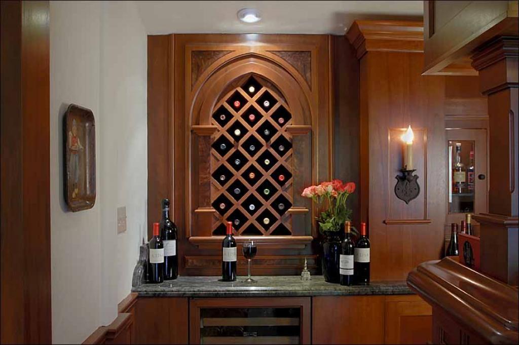 Cold Winter with Perfect Wine Racks Wine rack - ernestomeda barrique