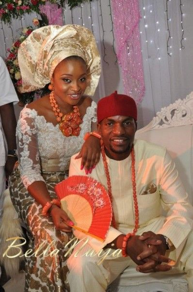 Faith Arigbe And Kenny Umenyi Traditional Nigerian Wedding By BellaNaija233