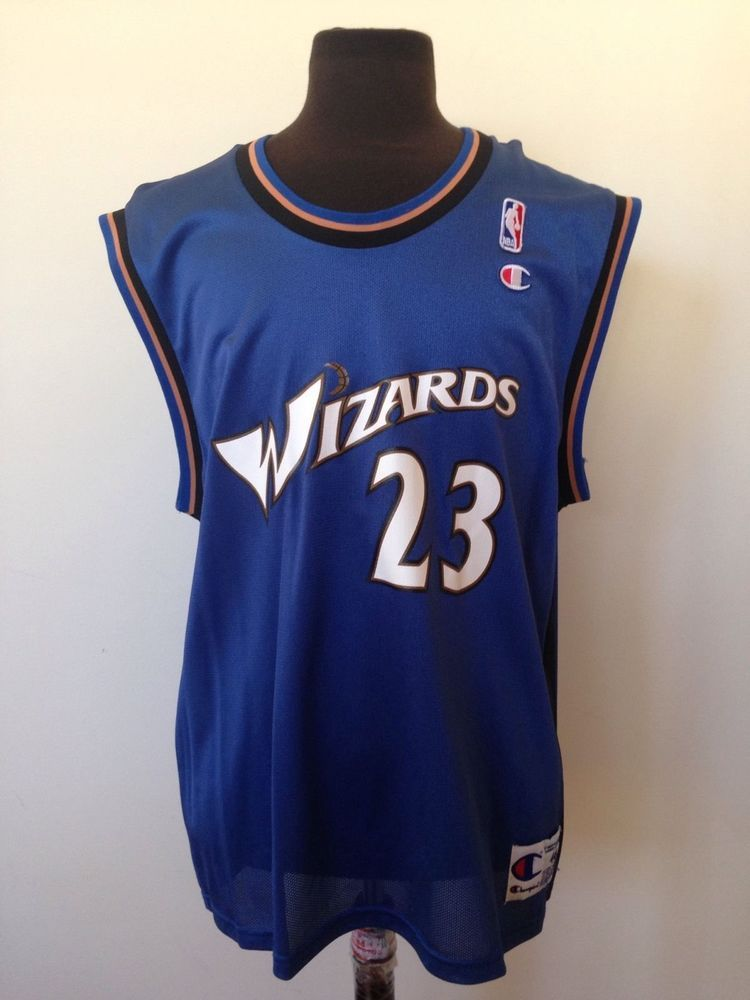 92d9241757d Champion Michael Jordan Washington Wizards  23 NBA Jersey (Men s Size 40)   Champion  WashingtonWizards