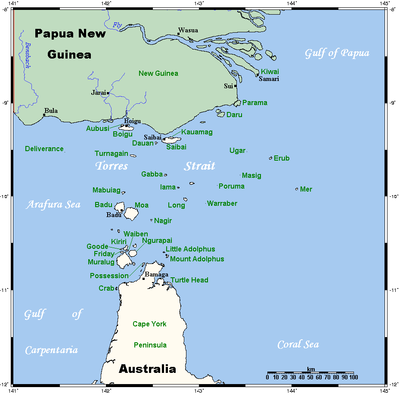 The Torres Strait Islands are a group like the Maldives that are