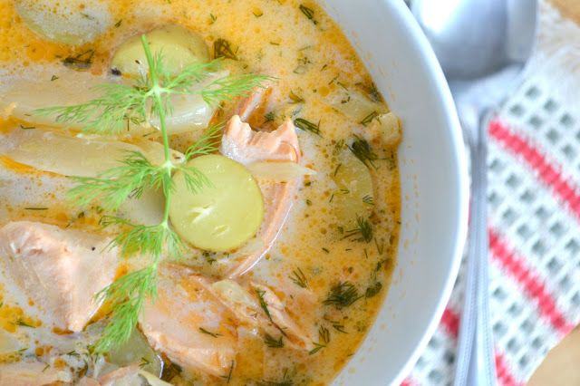 Springtime Salmon and Fennel Chowder - The View from Great Island