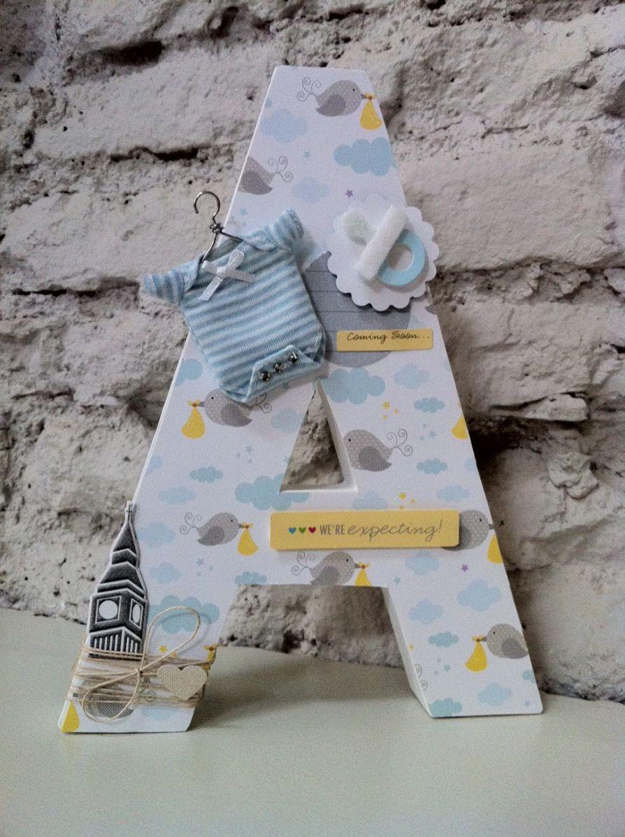 Decorativas ideas y moda para ni os chic letras scrap - Letras decorativas para ninos ...