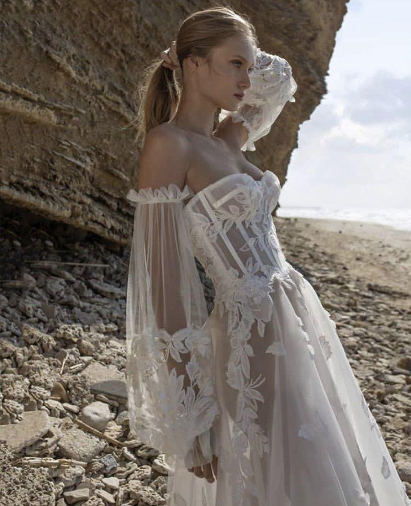 Detailed wedding dress ball dresses fairytale dress
