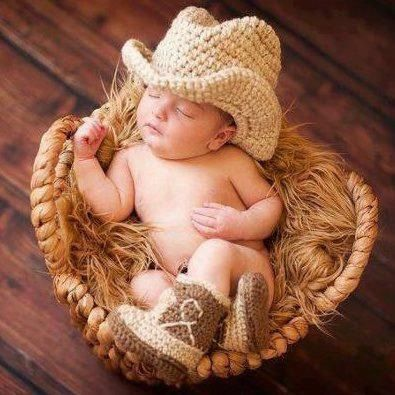 Cowboy boy crochet set @Karen Jacot Jacot Jacot Jacot Jacot Jacot Jacot Baillie