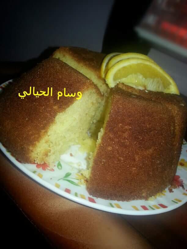 كيكه بطعم البرتقال هشه ومنفوشه روعه زاكي Food Arabic Food Desserts