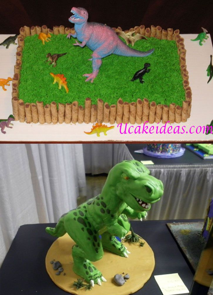 T Rex Dinosaur Cake Ideas : U Cake Ideas