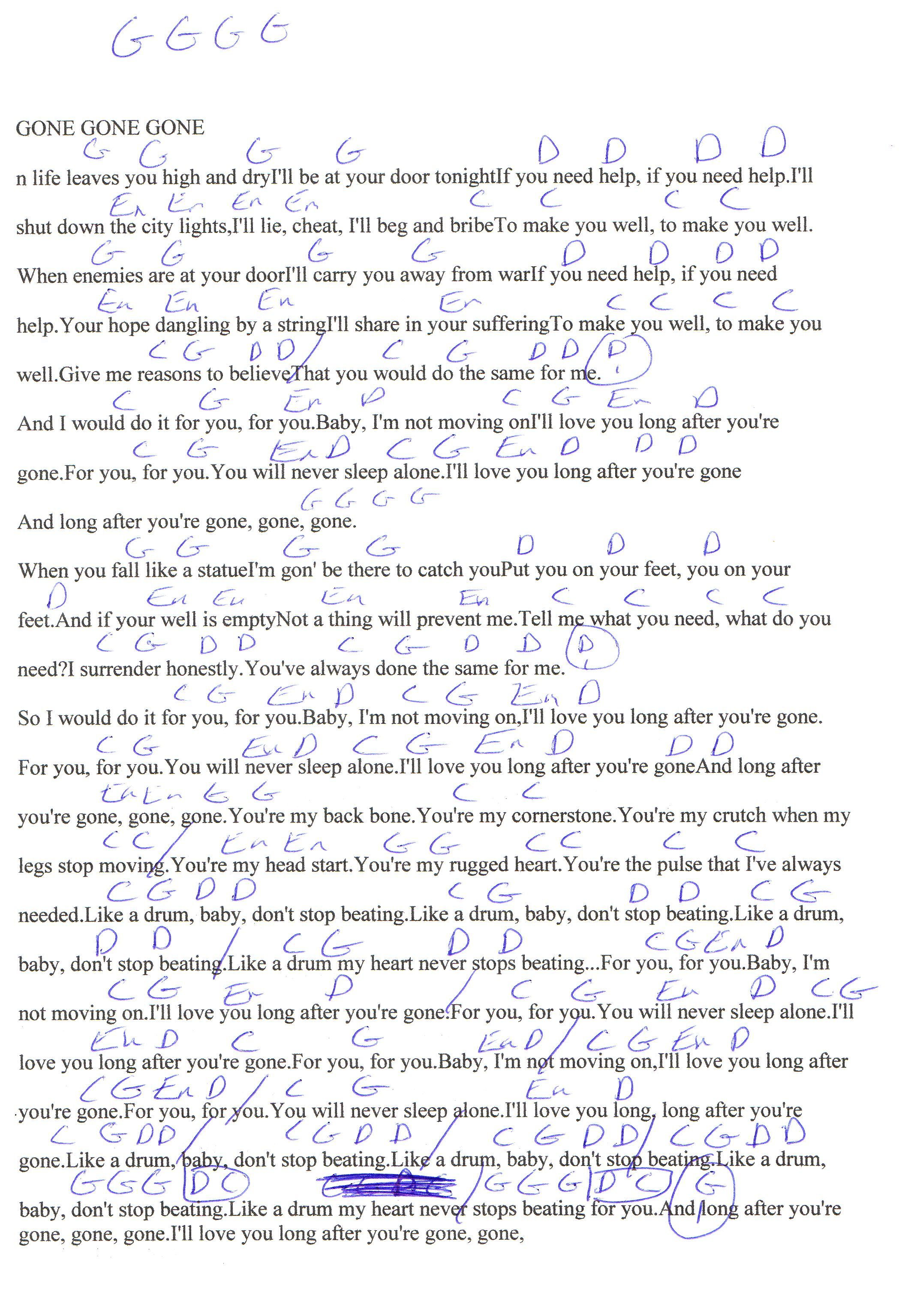 best When Youre Gone Avril Lavigne Lyrics And Chords image collection