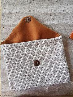 – DIY – Pochette en tissu (ultra facile