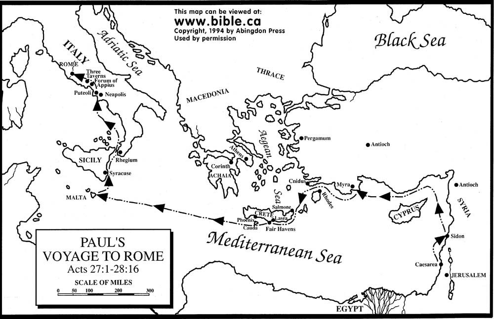 Missionary Coloring Pages | Free Bible Maps of Bible Times and Lands ...