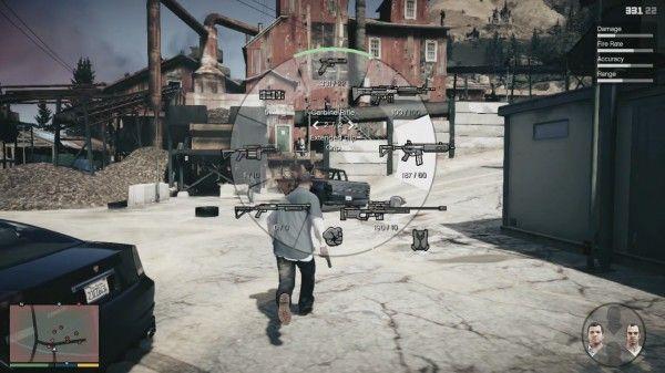 GTA V weapons wheel interface   GTA V   Gta 5 games, Grand