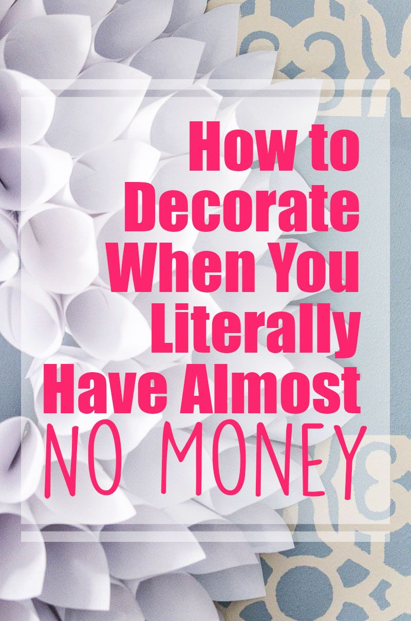 How to Decorate on a Tight Budget in 2018 | DIY Home Decor ...