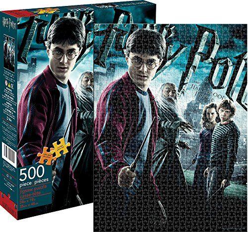 Aquarius Harry Potter Half-Blood Prince Puzzle (500 Piece ...