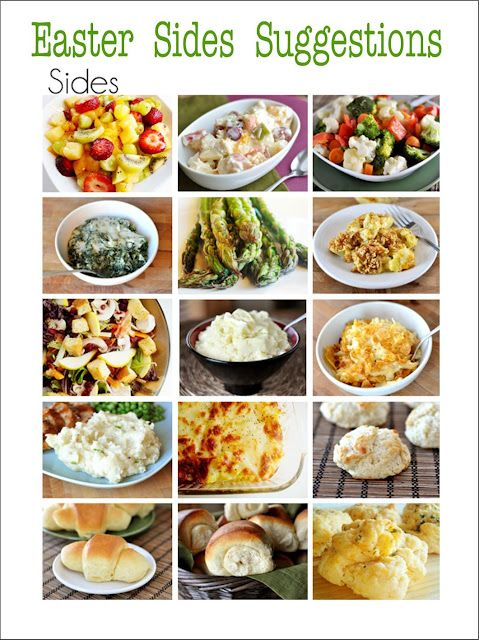 Found Some Amazing Menu Suggestions For Your Easter Dinner There S Main Course Sides And Desserts Recipe Is Included Each Of The Yummy Dishes