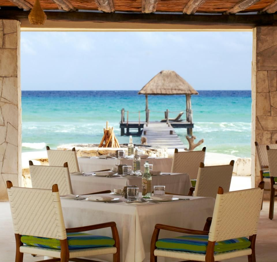 Coral Bar & Grill is a casual, open-air spot at the Viceroy, in the Maya Riviera ... Playa del Carmen, Mexico