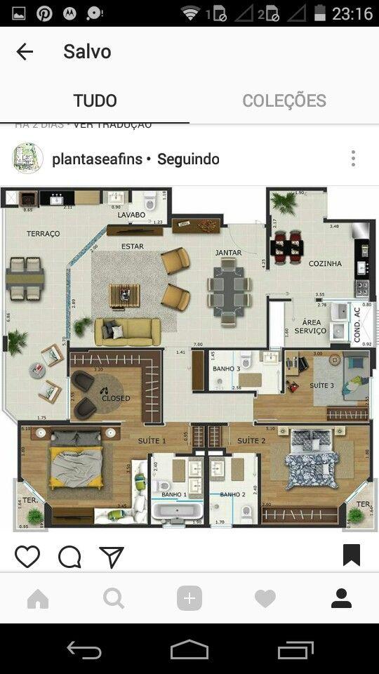 Elegant Offene Küche, Grundrisse, Hausbau, Wohnen, Zeitgenössische Häuser, Haus Der  Architektur, Kleine Häuser, Sims, Hauspläne