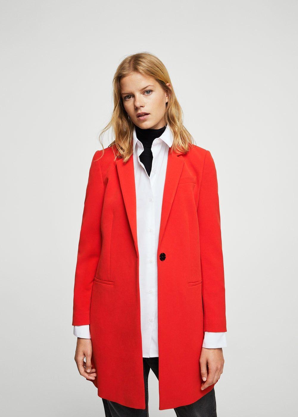 512657d96b Férfias szabású struktúrált kabát - Női | Fashion | Coat, Coats for ...