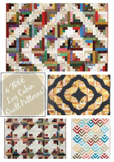 Free Log Cabin Quilt Patterns Log Cabin Quilt Pattern Log Cabin