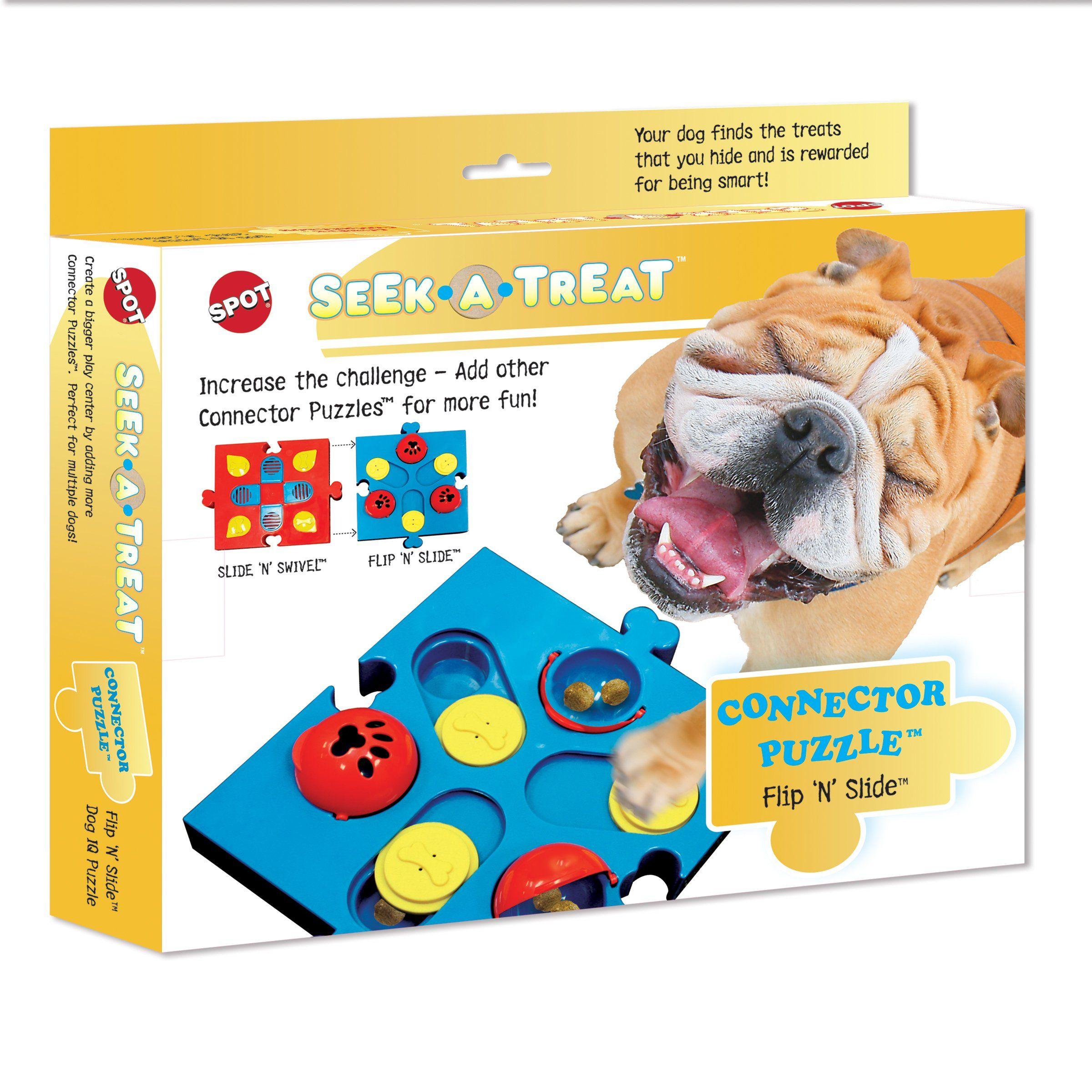 Ethical Pets Spot Seekatreat Flip N Slide Treat Dispenser For Dogs