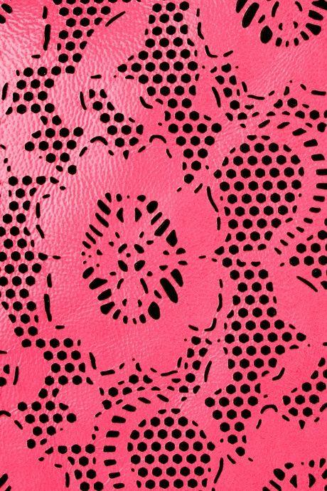 #Neon #Floral #Lasercut #Pink #Detail #Style #Fashion #BiographyInspiration