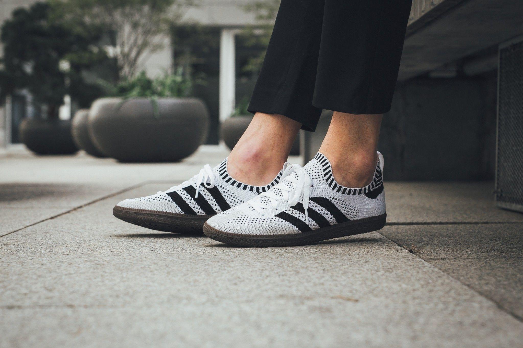 adidas Originals Samba Schuh Sneaker Lederschuhe Weiß