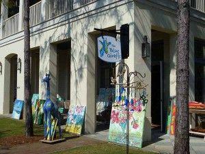 The Blue Giraffe - nice shop, I did a make & take that was a lot of fun!