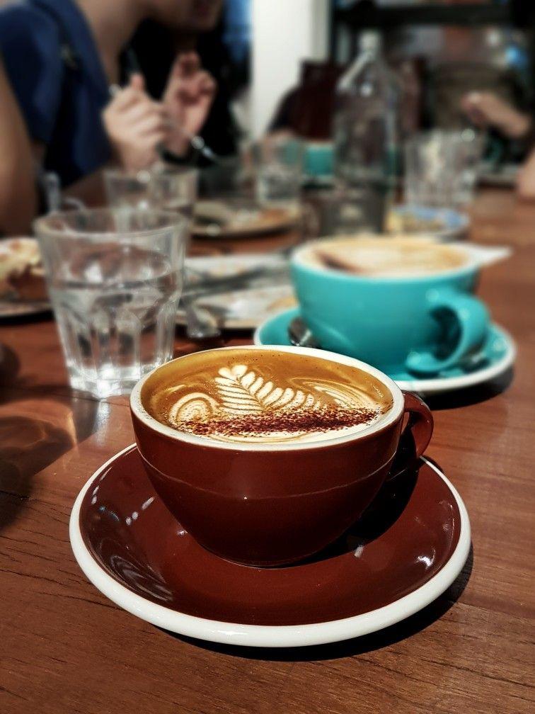 Cappuccino Tiong Bahru Bakery Singapore Almond Milk Latte Food Coffee Club