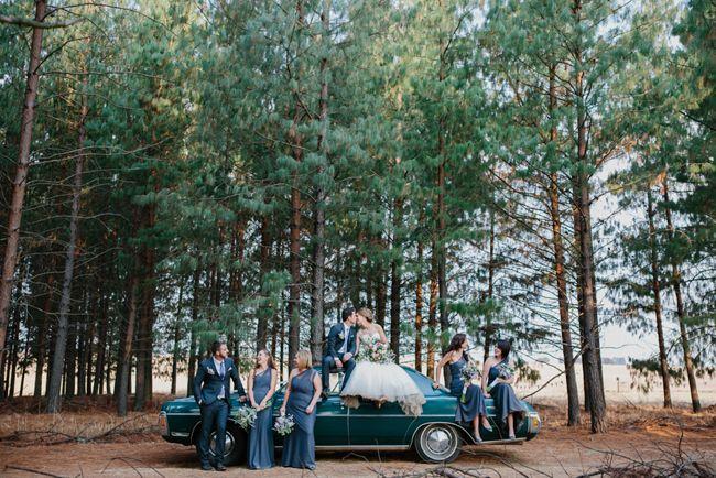 Charming Forest Wedding | SouthBound Bride | http://www.southboundbride.com/charming-forest-wedding-at-florence-farm-by-carolien-ben | Credit: Carolien & Ben
