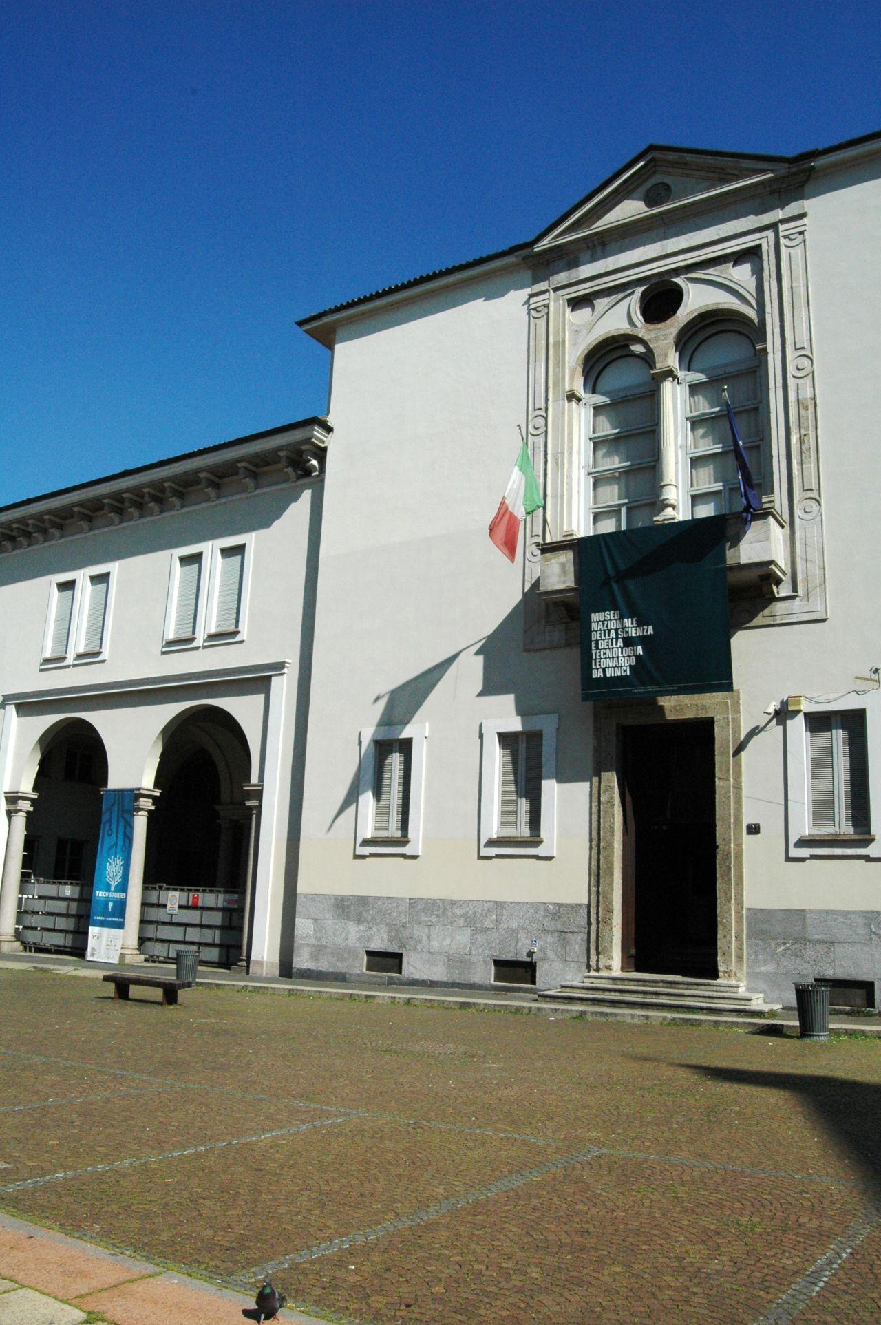 Museo Della Scienza E Della Tecnica Milano.Museo Della Scienza E Della Tecnica In Via San Vittore Citta
