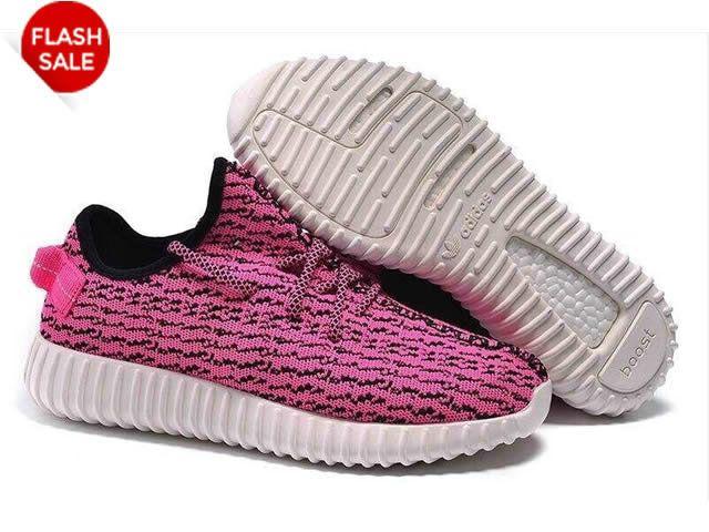 762887f10ab0 Adidas Yeezy Boot GS - Chaussure de Adidas Pas Cher Pour Femme/Enfant  Rose/Blanc/Noir