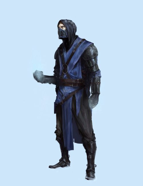 sub zero by damian audino  EXPOSE 7: The Finest Digital Art in the Known Universe